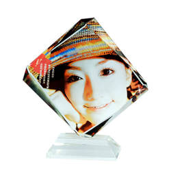 Photo crystal trapezium model SJ06