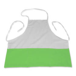 Photo kitchen apron light green Sublimation Thermal Transfer