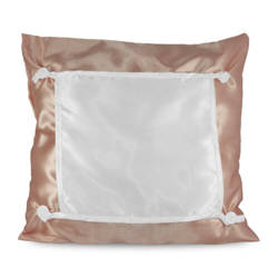 Pillowcase Eco 40 x 40 cm brown Sublimation Thermal Transfer