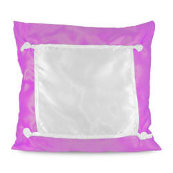 Pillowcase Eco 40 x 40 cm dark pink Sublimation Thermal Transfer