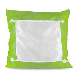 Pillowcase Eco 40 x 40 cm green Sublimation Thermal Transfer