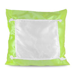 Pillowcase Eco 40 x 40 cm light green Sublimation Thermal Transfer