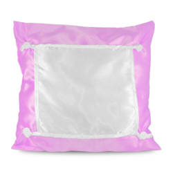 Pillowcase Eco 40 x 40 cm light pink Sublimation Thermal Transfer