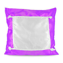 Pillowcase Eco 40 x 40 cm magenta Sublimation Thermal Transfer