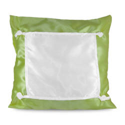 Pillowcase Eco 40 x 40 cm olive green Sublimation Thermal Transfer
