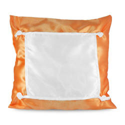 Pillowcase Eco 40 x 40 cm orange Sublimation Thermal Transfer