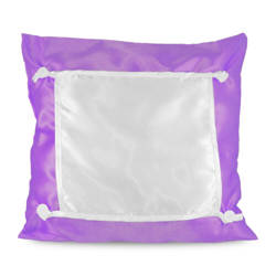 Pillowcase Eco 40 x 40 cm purple Sublimation Thermal Transfer
