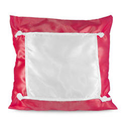 Pillowcase Eco 40 x 40 cm red Sublimation Thermal Transfer