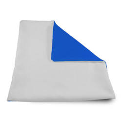 Pillowcase Soft 32 x 32 cm blue Sublimation Thermal Transfer