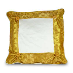 Pillowcase Super Quality 40 x 40 cm gold Sublimation Thermal Transfer