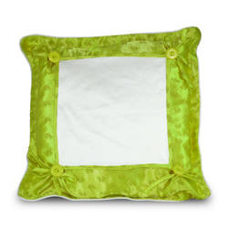 Pillowcase Super Quality 40 x 40 cm light green Sublimation Thermal Transfer