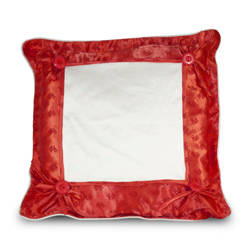 Pillowcase Super Quality 40 x 40 cm red Sublimation Thermal Transfer