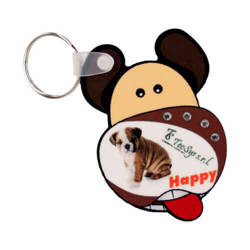 Plastic pendant - dog - Sublimation Transfer