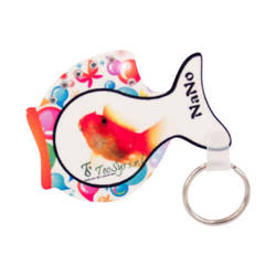 Plastic pendant - fish - Sublimation Transfer
