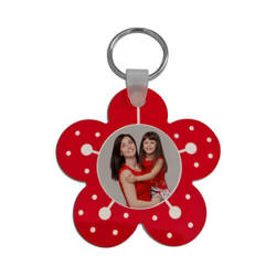 Plastic pendant - flower - Sublimation Transfer