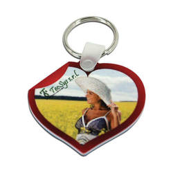 Plastic pendant - heart - Sublimation Transfer