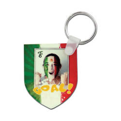 Plastic pendant - shield - Sublimation Transfer