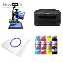 Plate printing kit Epson WF-7110DTW + SP02 Sublimation Thermal Transfer