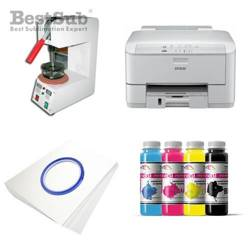 Plates printing kit Epson WF3010DW + SP01 Sublimation Thermal Transfer