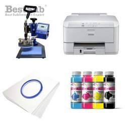 Plates printing kit Epson WF3010DW + SP02 Sublimation Thermal Transfer