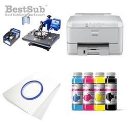 Printing Kit  Epson WF3010DW + COMBO2 Sublimation Thermal Transfer