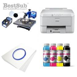 Printing Kit  Epson WF3010DW + COMBO3 Sublimation Thermal Transfer