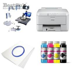 Printing Kit Epson WF3010DW + SD68 Sublimation Thermal Transfer