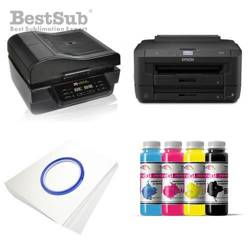 Printing kit 3D Epson WF3010DW + SZM3D-2 Sublimation Thermal Transfer