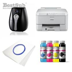 Printing kit 3D Epson WF3010DW + ZK1520K Sublimation Thermal Transfer