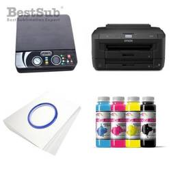 Printing kit 3D Epson WF7110DTW + ZK-SJK-EU Sublimation Thermal Transfer