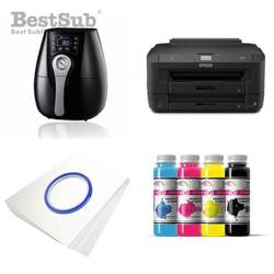 Printing kit 3D Epson WF7110DTW + ZK1520K Sublimation Thermal Transfer