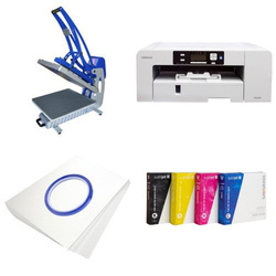 Printing kit for T-shirts Sawgrass Virtuoso SG1000 + CLAM-C45 Sublimation Thermal Transfer