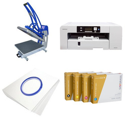 Printing kit for T-shirts Sawgrass Virtuoso SG1000 + CLAM-C56 ChromaBlast