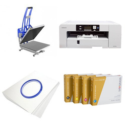 Printing kit for T-shirts Sawgrass Virtuoso SG1000 + CLAM-D45 ChromaBlast