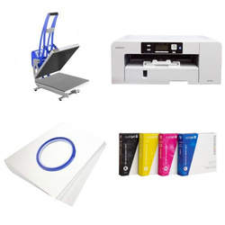 Printing kit for T-shirts Sawgrass Virtuoso SG1000 + CLAM-D45 Sublimation Thermal Transfer