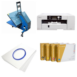 Printing kit for T-shirts Sawgrass Virtuoso SG1000 + JTSB3H-2 ChromaBlast