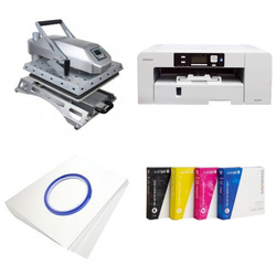 Printing kit for T-shirts Sawgrass Virtuoso SG1000 + JTSYN38 Sublimation Thermal Transfer