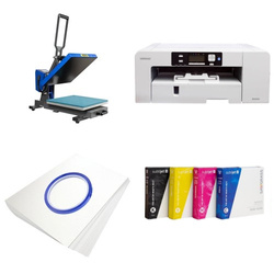 Printing kit for T-shirts Sawgrass Virtuoso SG1000 + PLUS-PB3838F Sublimation Thermal Transfer