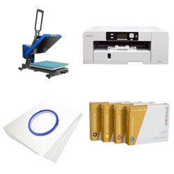 Printing kit for T-shirts Sawgrass Virtuoso SG1000 + PLUS-PB3838MD ChromaBlast