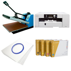 Printing kit for T-shirts Sawgrass Virtuoso SG1000 + SB3B-46-2 ChromaBlast