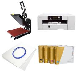 Printing kit for T-shirts Sawgrass Virtuoso SG1000 + SB3C1 ChromaBlast