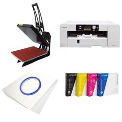 Printing kit for T-shirts Sawgrass Virtuoso SG1000 + SB3C3 Sublimation Thermal Transfer