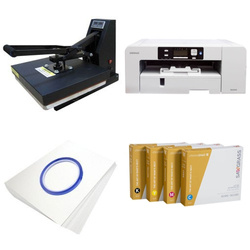 Printing kit for T-shirts Sawgrass Virtuoso SG1000 + SB3D1 ChromaBlast