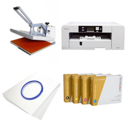 Printing kit for T-shirts Sawgrass Virtuoso SG1000 + SB5A-2 ChromaBlast