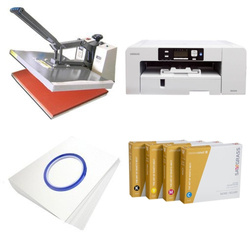 Printing kit for T-shirts Sawgrass Virtuoso SG1000 + SB6D ChromaBlast