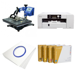 Printing kit for T-shirts Sawgrass Virtuoso SG1000 + SD71 ChromaBlast