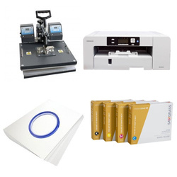 Printing kit for T-shirts Sawgrass Virtuoso SG1000 + SD73 ChromaBlast