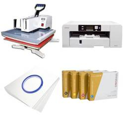 Printing kit for T-shirts Sawgrass Virtuoso SG1000 + SY99-45-2 ChromaBlast
