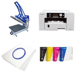 Printing kit for T-shirts Sawgrass Virtuoso SG400 + CLAM-C46 Sublimation Thermal Transfer