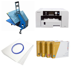 Printing kit for T-shirts Sawgrass Virtuoso SG400 + JTSB3H-2 ChromaBlast